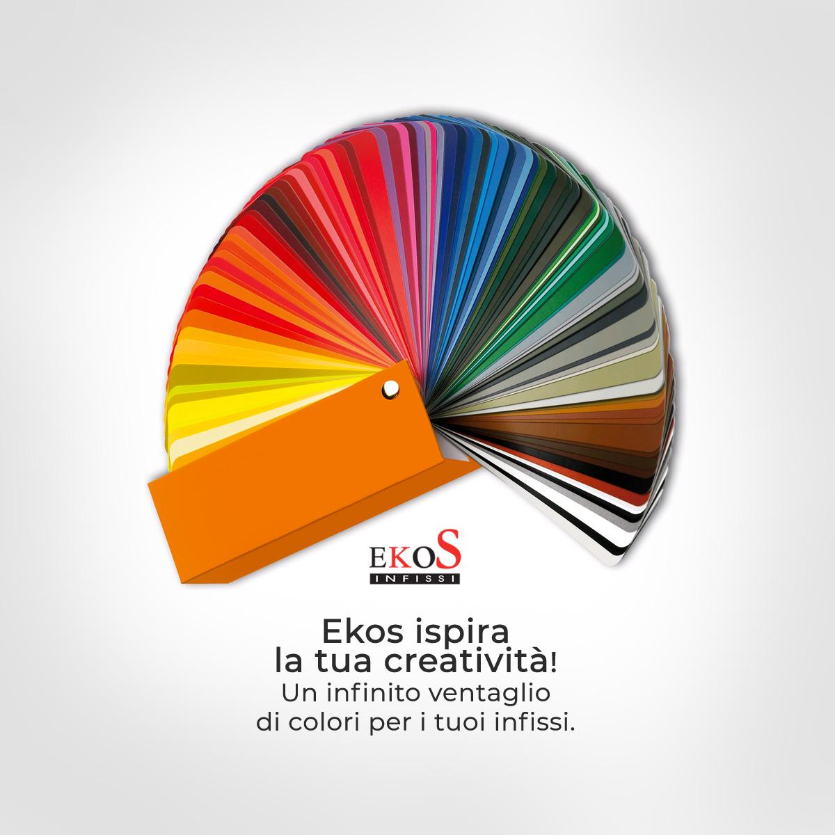 Qualità, stile e creatività. Con ekoS è semplice ancora più bello dare libero sfogo alla tua fantasia!