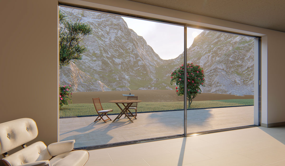 Linea Sky View, infissi a TuttoVetro. Luminosità, stile e sicurezza