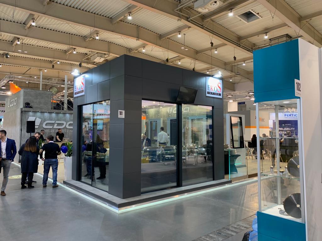 EkoS Infissi presente al BUDMA 2019 – International Construction and Architecture Fair