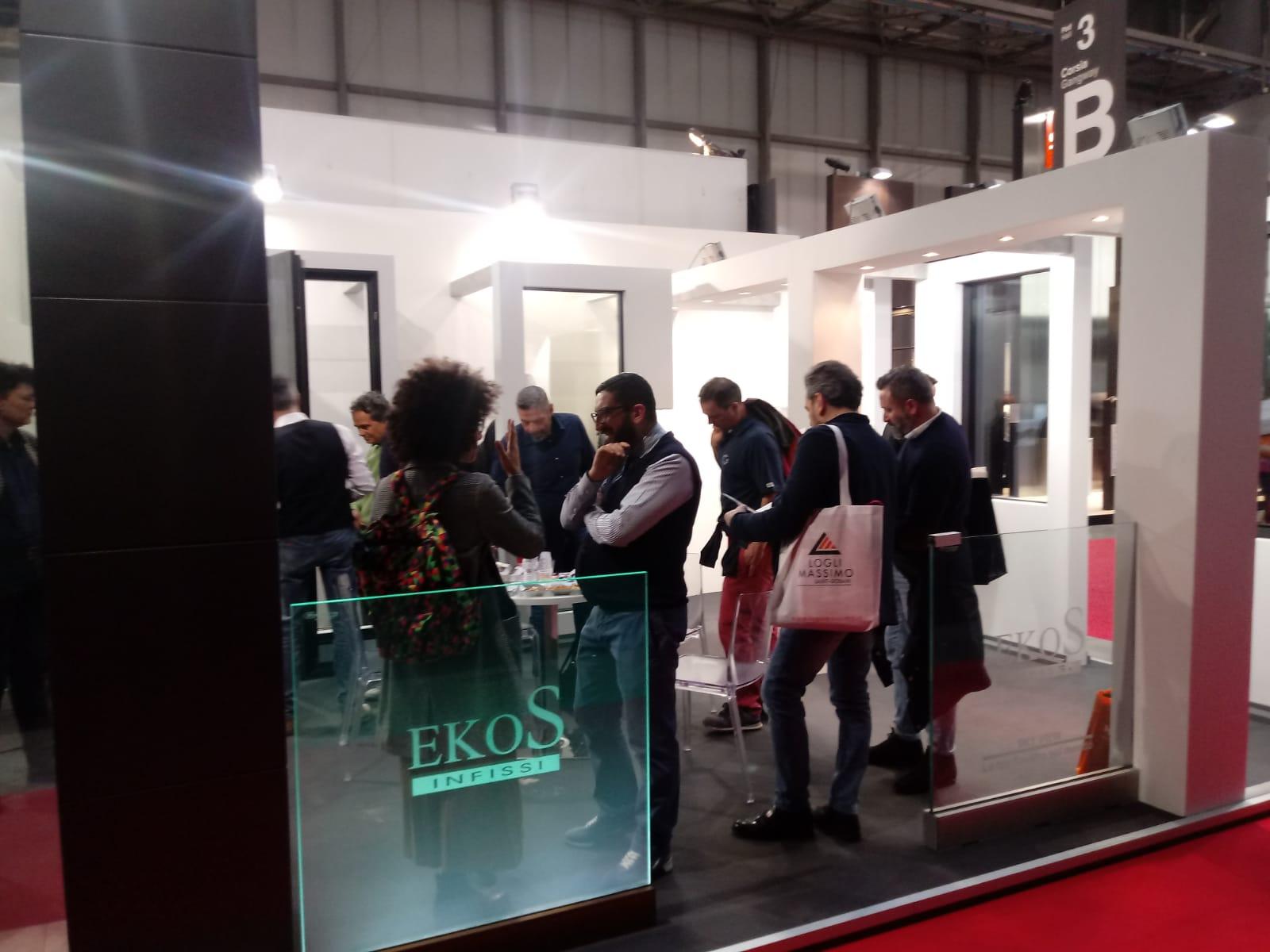 EkoS Infissi al MADE Expo Fiera di Milano: news 19/03