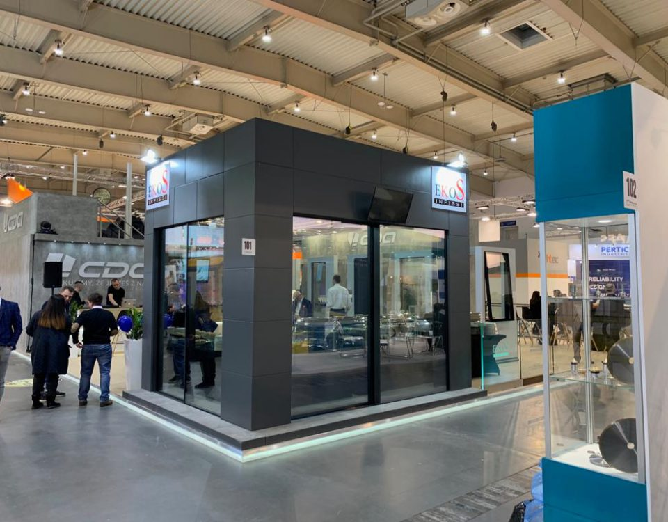 EkoS Infissi presente al BUDMA 2019 - International Construction and Architecture Fair