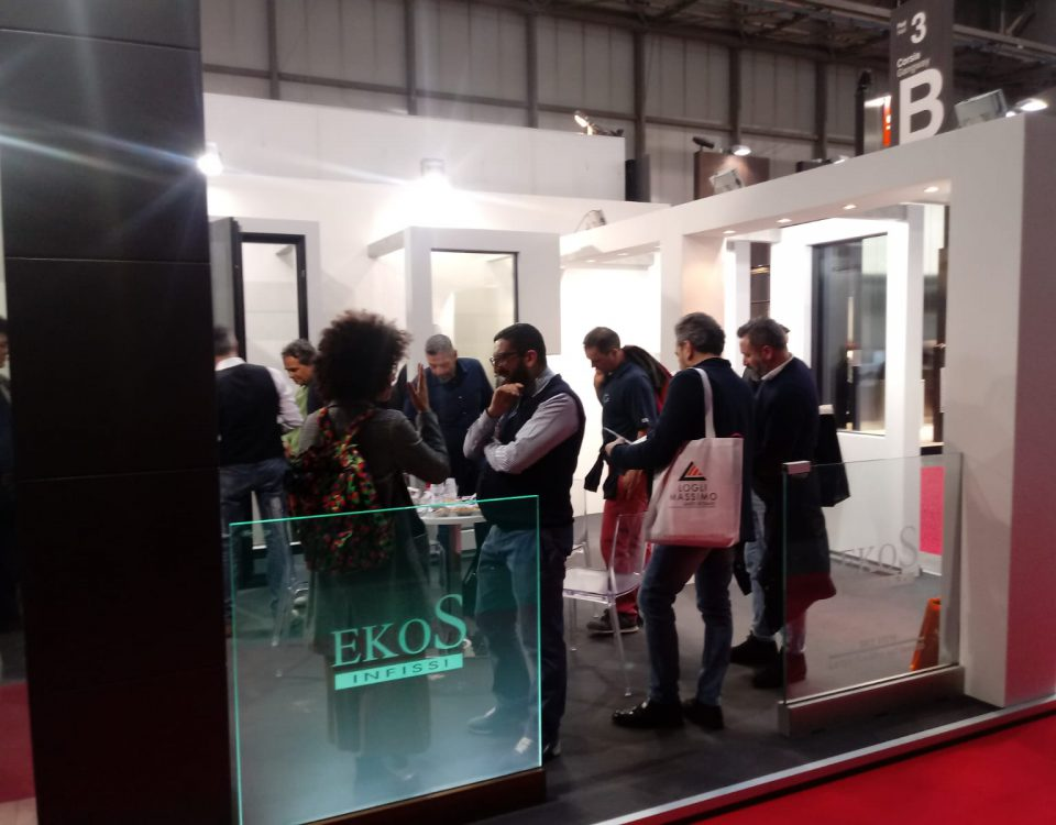 EkoS Infissi al MADE Expo Fiera di Milano: news 19/03